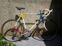 Raleigh Quadra 1980s road bike