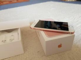 Iphone 7 Rose Gold 32GB like new condition