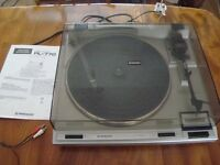 Pioneer PL-760 turntable & instructions