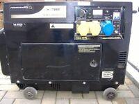 Powershack silent diesel generator