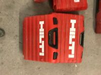 Assorted Hilty drill boxes £10 each
