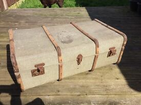 Lovely vintage trunk