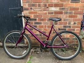 Ladies Raleigh Max Bike