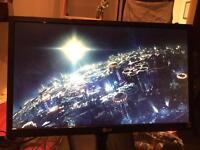 "LG 24"" HD LED Backlit Monitor - HDMI, DVI-D, VGA connections"