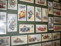 COLLECTION OF FRAMED CIGARETTE CARDS