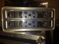 prosound amp 1000w in case