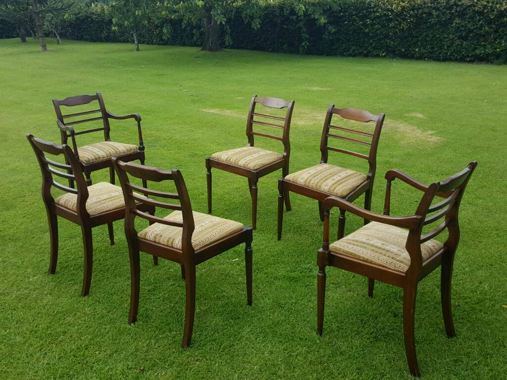 Complete dining seat of chairsin Perth, Perth and KinrossGumtree - Two carvers and four chairs. Used condition