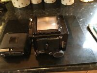 Mamiya RB67 Pro w/sekor 90mm F/3.8 Lens , 120 Film Back