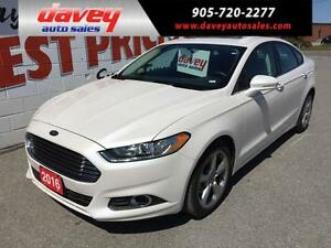 2016 Ford Fusion SE SUNROOF, BLUETOOTH, ALLOY WHEELS