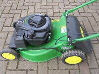 John Deere Run 46 Walk Behind Self Propelled Lawn Mower £250