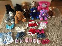 Build a bear bundle - teddies, clothes and accessories