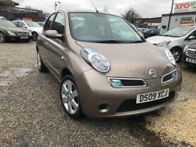 2009 Nissan Micra 1.2 16v Acenta 5dr CAT(S) 1PREVIOUS OWNER+LOW MILES+AUTO