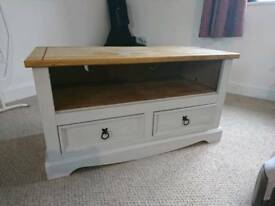 Mexican Pine TV Unit with Drawers