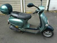 Piaggio vespa auto drive moped motorcycle scooter only only 499 no offers.