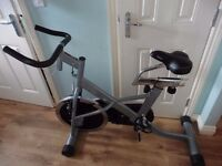 COMMERCIAL REVOLUTION EXERCISE CYCLE VERY GOOD CONDITION VERY EXPENSIVE NEW BARGAIN £60 bargain
