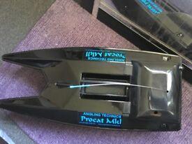 Bait boat ,Angling technics procat mk11