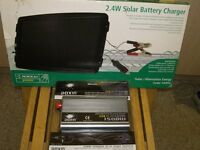 Solar battery charger and doxin 1500 w invertor