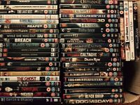 Large collection of DVDs. Available for £50p each (minimum of 8). Buyer collects from Ely