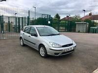 BARGAIN! 2004 Ford Focus 1.6 - 5 Door, Silver, Petrol, Manual, NEW MOT, Full History