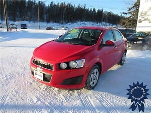 2014 Chevrolet Sonic LT, Remote Start, 60,560 KMs, 1.8L 4 Cyli