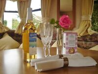Holiday Caravan to Let,North Cornwall near Boscastle area, enjoy relaxing break with cosy log fire!