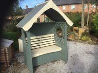 Bramble Garden Arbour. New. Ready Built. Best Arbour Around.