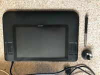 WACOM CintiQ 12WX Interactive drawing tablet pen display & Accessories with Box
