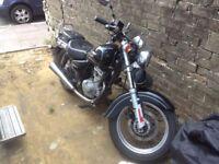 Suzuki Marauder 125cc Learner Motorbike 11 Months MOT