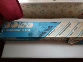 Bond Knitting Machine As New Condition Only Used Once