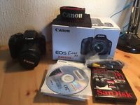 Canon Kiss X4 with 18-55mm Kit Lens ( 550D / Rebel 2Ti ) + 16GB SanDisk Extreme Card — BOXED