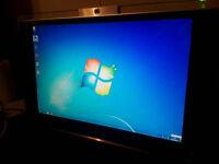 23 inch All - in - one desktop PC * webcam , wifi Dual core . 3gb 200gb etc