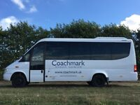 Coachmark 16 seat Minibus Hire based in Rochester, Kent