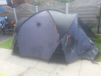 for sale vango 4 person large tent in vgc £35