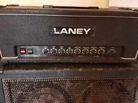 Laney AOR 50w Series II All Valve Vintage Original 80's Guitar Amp Head & Cab