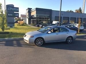 2004 Acura TSX WOW - CUIR/ TOIT OUVRANT/ MAGS 19'' *** FINANCEME