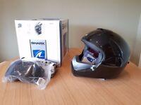 Shark Vancore Helmet (New) Medium Black