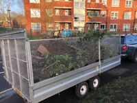 HUGE cage trailer for sale twin axle braked