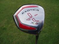 Driver Exotics Tour Edge XLD 10.5 R-Flex