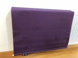 Aubergine Thermal Backed Roller Blind