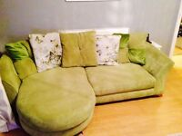 Dfs 4 seater sofa and chair