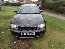 2008 BMW 1 Series 1.6 116i ES 3dr [NEW MOT+START/STOP+AC+AUX+FSH]