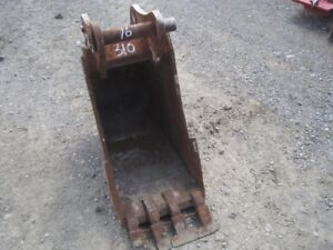 "16"" SJ, SG, SE - Bucket - Backhoe"