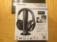 Wireless headphone 5 in 1 with receiver