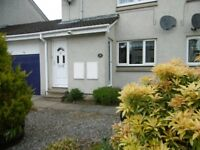 GRANT RD, BANCHORY, 2 BED, UNFURN. APARTMENT, LOUNGE, DINING KITCHEN, BATHROOM, GARDEN & GARAGE