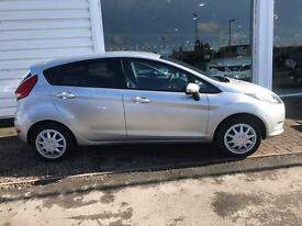 FORD FIESTA 1.4 TDCi Style + 5dr (silver) 2009