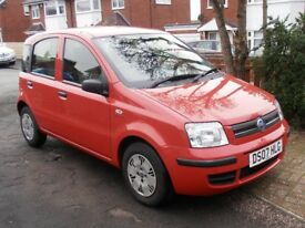 Fiat Panda 1.2 Dynamic, red. Ideal first car! 8 months MOT.
