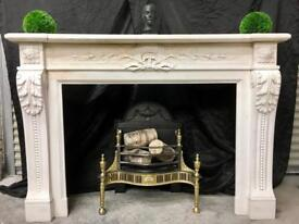 Period French Marble fireplace Surround