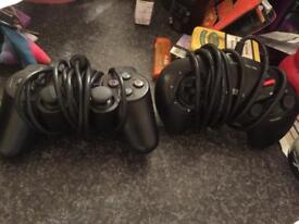 2 fully tested and working official pads sega and ps2