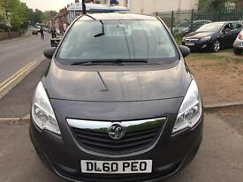 Vauxhall Meriva 1.4 petrol excellent drive full service (2011) hpi clear