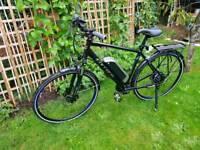 Carrera electric bike used once RRP £1250